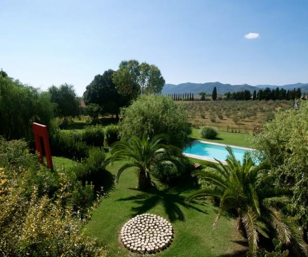 agriturismo podere il leccio maremma toscana grosseto turismo sostenibile piscina pool vacanza vacancy family