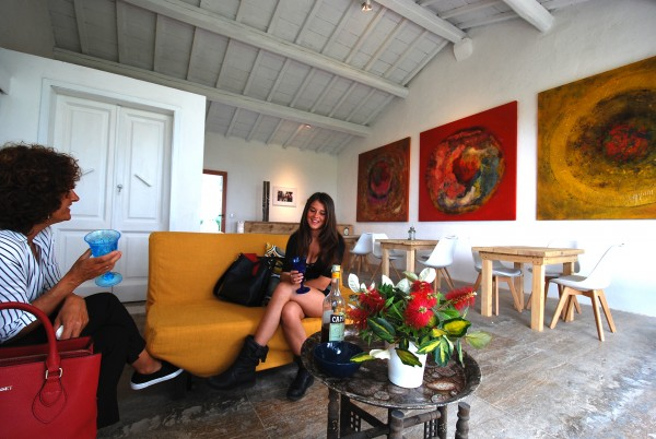 agriturismo podere il leccio maremma toscana - soggiornare nell'arte contemporanea