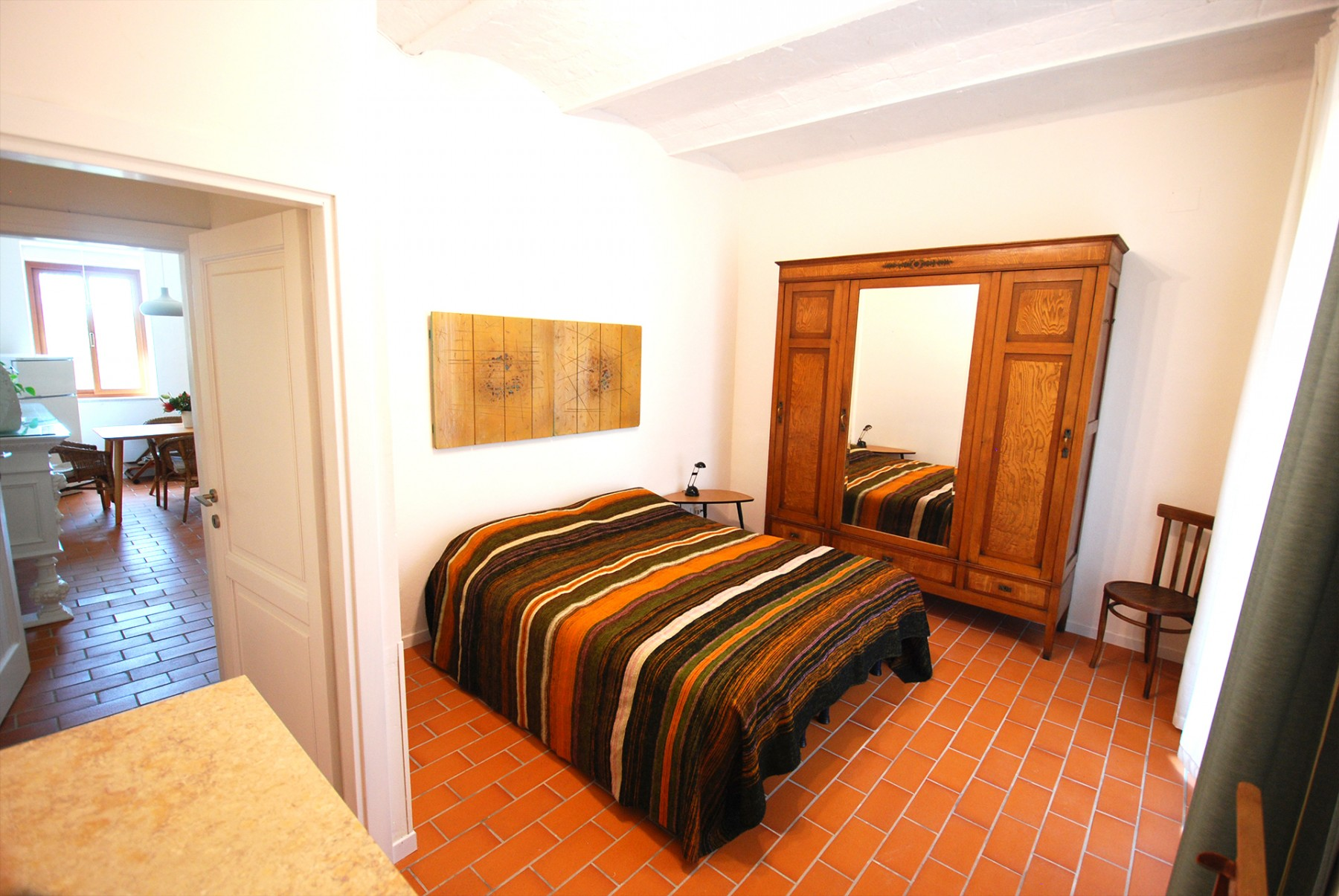 Camera Matrimoniale A Grosseto.Appartamento Tarangire Agriturismo Podere Il Leccio Toscana